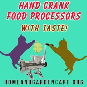Hand Crank Food Processors