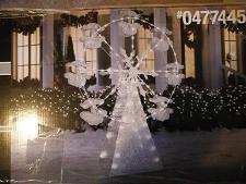 Christmas Snowflake Yard Lights