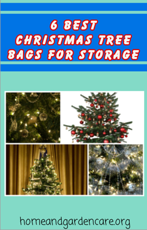 Christmas tree bags for storage