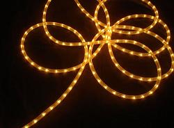 Gold Christmas Tree Rope Lights