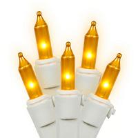 Gold Mini Christmas Tree Lights