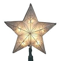 Lighted Star Topper for Christmas Tree