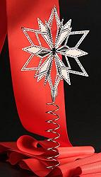 Swarovski Crystal Star Christmas Tree Topper