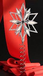 Swarovski Crystal Star Christmas Tree Topper