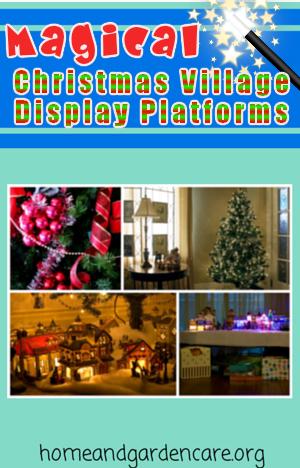 Christmas Village Display Platforms.Christmas Village Display Platforms Home And Garden Care