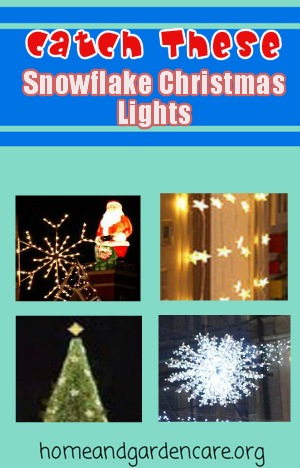 snowflake christmas lights