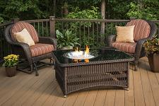 Natural Gas Fire Pit Table