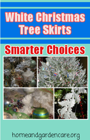 White Christmas Tree Skirt