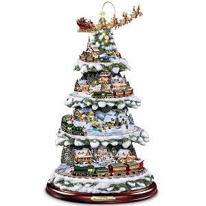 Animated Tabletop Christmas Village