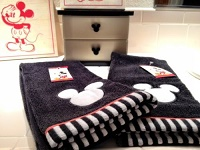 Black and White Hand Towels