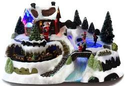 Christmas Village Winter Wonderland Centerpiece Display