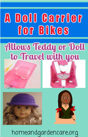 Doll Carrier for Bike