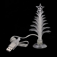 Small Fiber Optic Christmas Tree