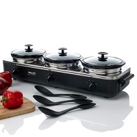3 Crock Pot Buffet - Rival SCRBC909-BS
