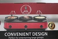 Farberware 3-Crock 2.5qt. Triple Slow Cooker
