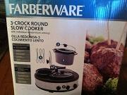 Farberware 3 Crock Slow Cooker