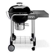 weber performer silver charcoal grill