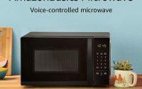 AmazonBasics Voice Controlled Microwave