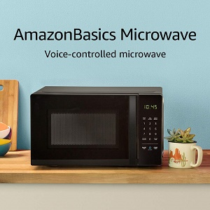 AmazonBasics Voice Controlled Microwave